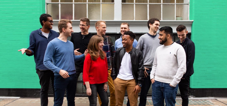 El equipo de TaxScouts en la oficina de Londres